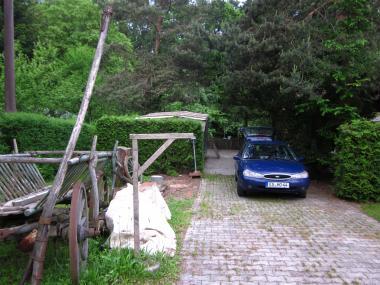 シュタオホさんの庭入口