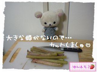 ちこちゃん日記★128★フキの下処理-3