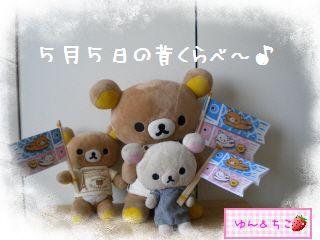 ちこちゃん日記特別編★2012こどもの日★-5