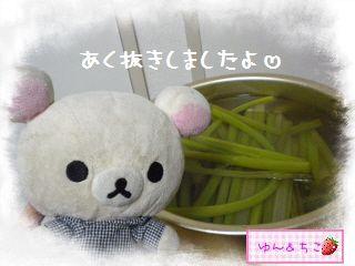 ちこちゃん日記★129★フキの炒め物-1
