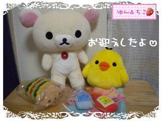 ポージングぬいぐるみ★コリラックマ&キイロイトリ-1