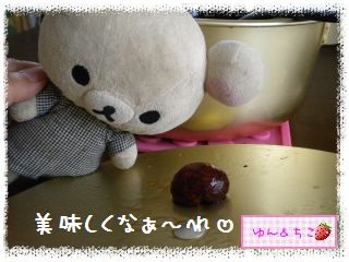 ちこちゃん日記★143★栗の渋皮煮できたでしゅよ♪-1