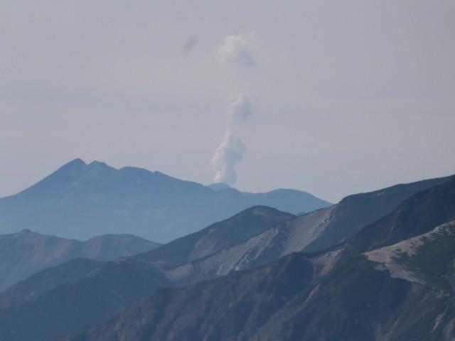 10月12日 御嶽山の噴煙