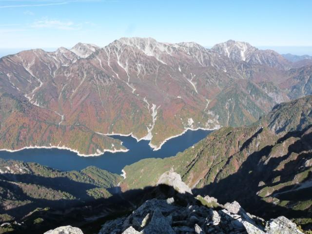 10月12日 立山と剱岳と黒部湖