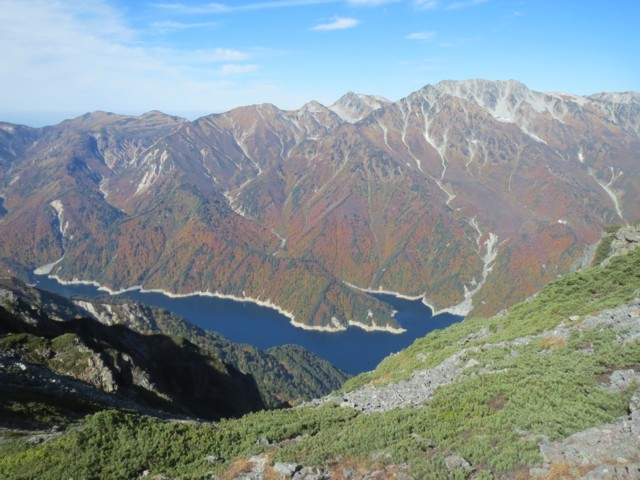 10月12日 立山と黒部湖