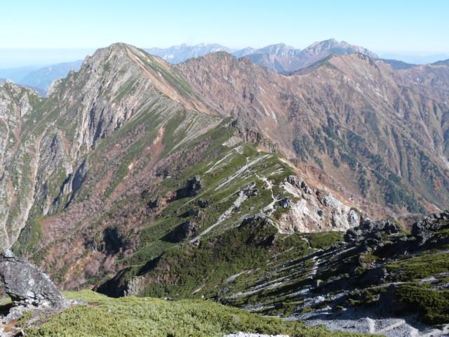 10月12日 赤沢岳,鳴沢岳,岩小屋沢岳