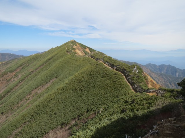 10月12日 岩小屋沢岳