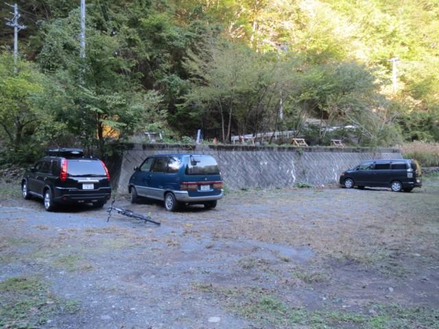 10月19日 北又渡の駐車スペース