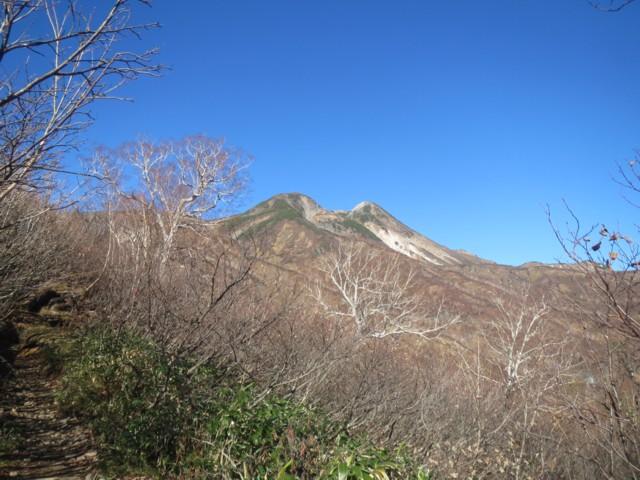10月25日 大倉山ピークから御前峰と剣ヶ峰