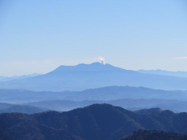 10月25日 御前峰から御嶽山