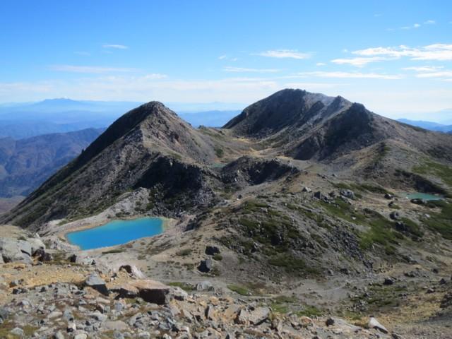 10月25日 大汝峰から御前峰と剣ヶ峰
