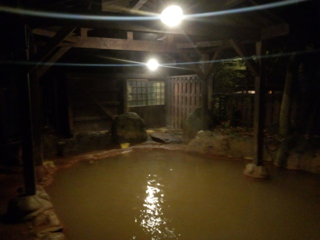 10月25日 平湯の湯
