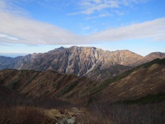 10月26日 笠ヶ岳と抜戸岳