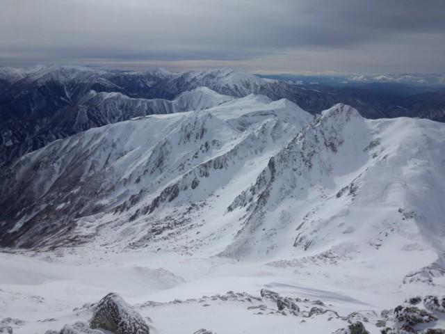 11月16日 雄山から龍王岳