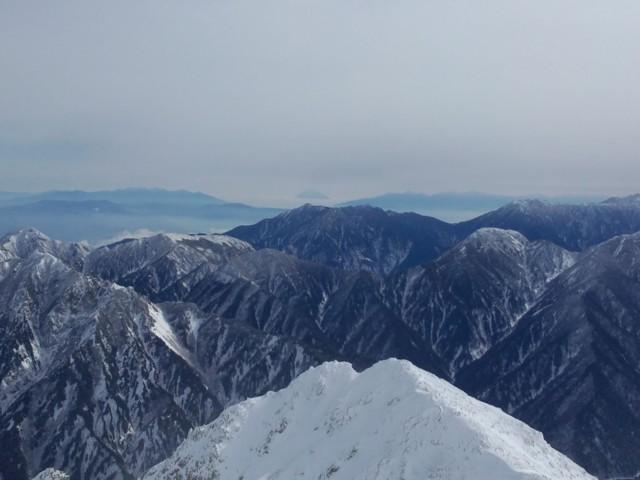 11月16日 雄山から富士山