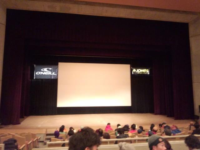 11月16日 HIGHER上映会会場@白馬