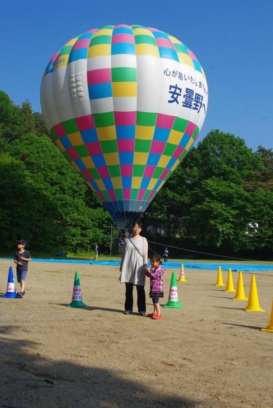 安曇野で気球♪