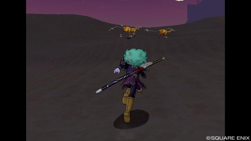 砂漠を走る!
