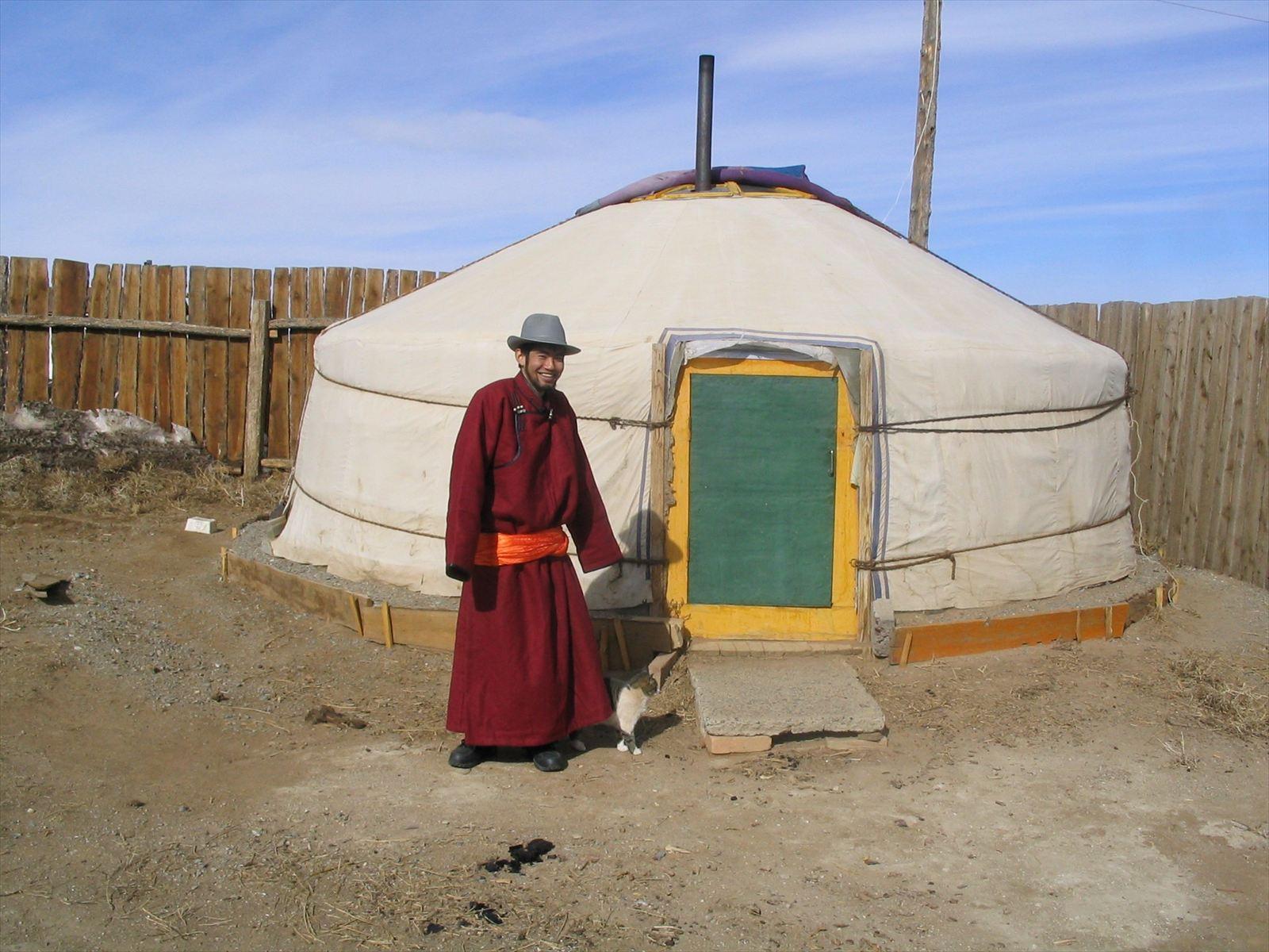 モンゴルのゲル