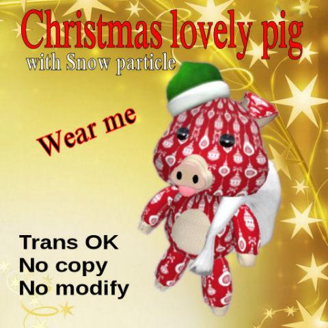 Christmas Pig 480