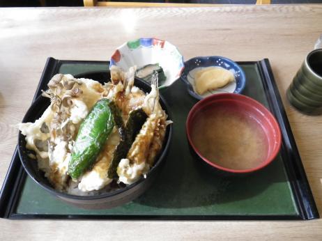 峠の茶屋 蔵 天丼