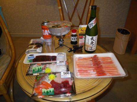 ホテルシーポート 夕食