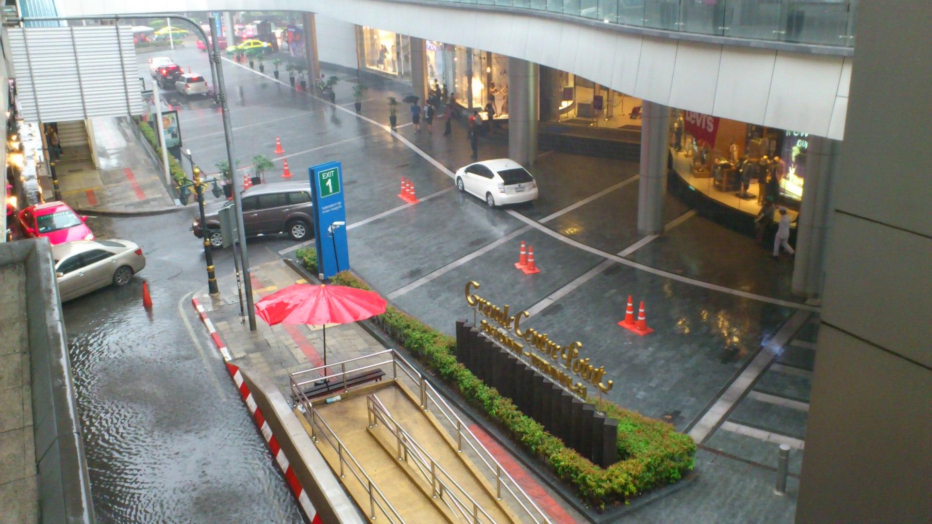 terminal21大雨