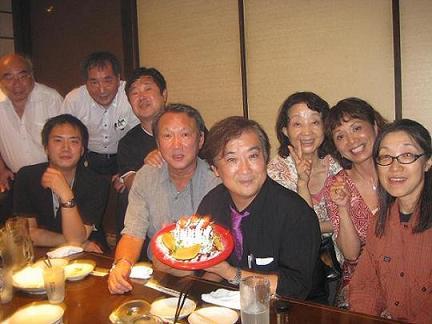 安藤先生誕生会