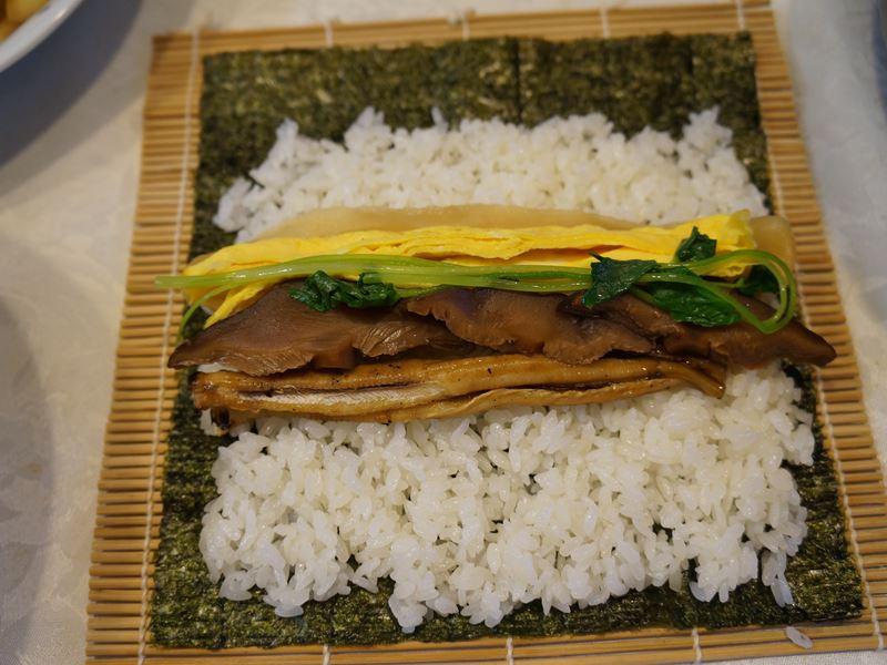 節分の巻き寿司