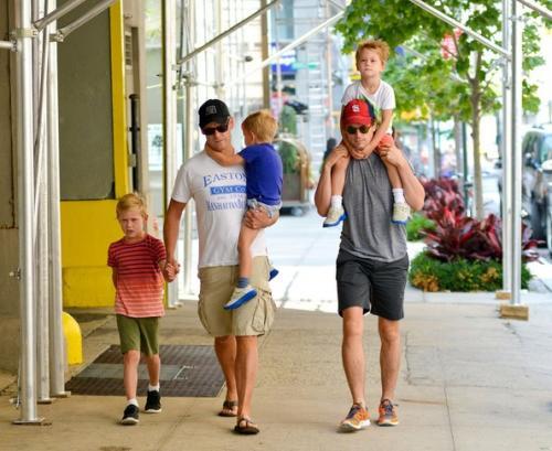 matt bomer and his family