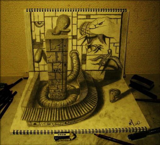 立体描写デザイン