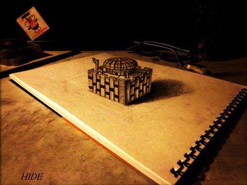 3Dスケッチブック