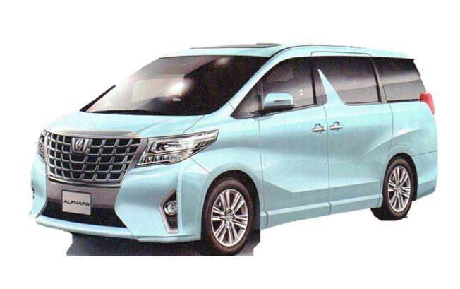 トヨタ 新型アルファード2015