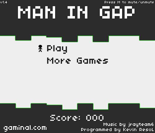 MAN IN GAP-1