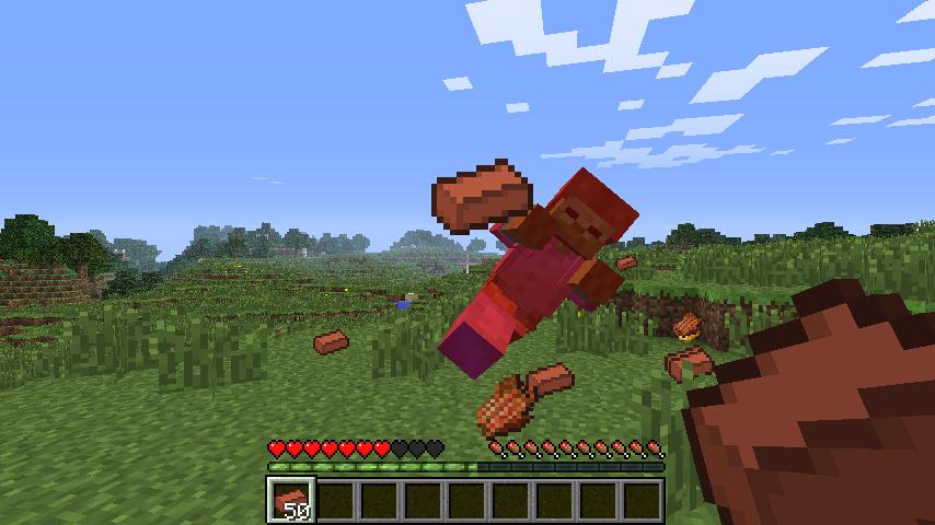 Throwable Bricks Mod-2