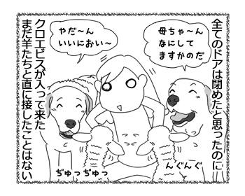 羊の国のラブラドール絵日記シニア!!「未知との遭遇」2
