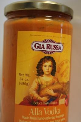 Gia Russa, Select Pasta Sauce, Alla Vodka, 24 oz (680 g)