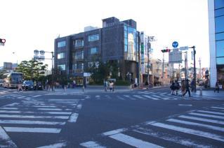 鎌倉道(戸塚):下馬交差点の現況-2