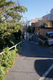 浦賀道(鎌倉):久野谷・坂を下る-1