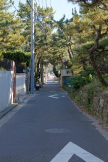 浦賀道(鎌倉):小坪・砂州の間を抜ける