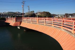 浦賀道(鎌倉):小坪・富士見橋を下流側より見る