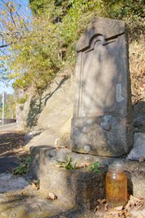 浦賀道(戸塚):上山口の庚申