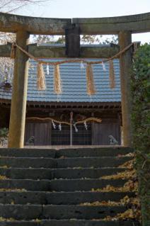 上山口・杉山神社:鳥居
