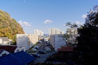 浦賀:第六天榊神社境内からの眺望