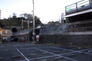 浦賀道(金沢):逸見・京浜急行との交点-1