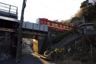 浦賀道(金沢):逸見・京浜急行との交点-2