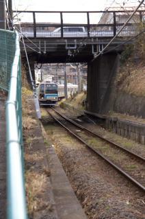 旧東海道:JR相模線との立体交差-1