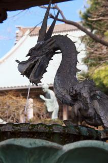 藤沢・遊行寺:水屋の龍