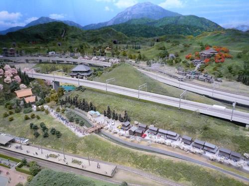 リニア鉄道館にて ジオラマ1