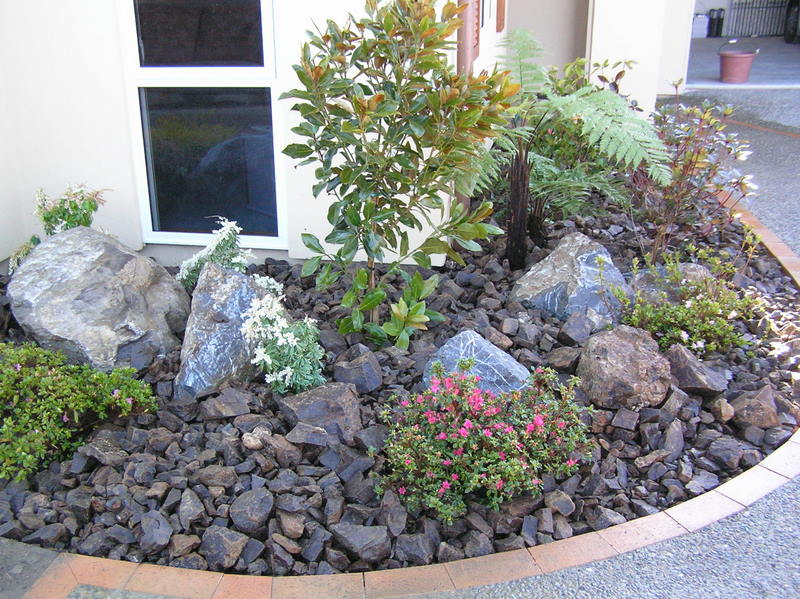 rock garden ideas my brillian design backyard landscaping ideas with rocks 12917